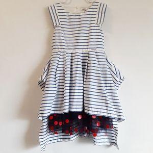 Jean Paul Gaultier Junior Pleated Polka Dot Dress